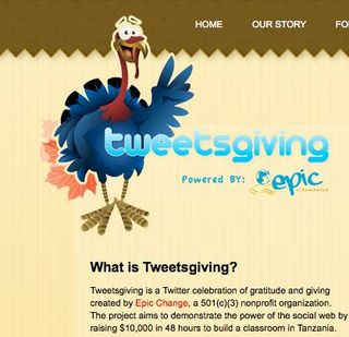 Tweetsgiving